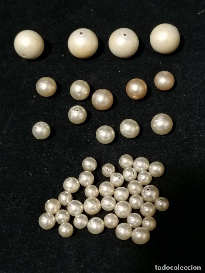 Joyeria: Lote de antiguas perlas de diferentes medidas. - Foto 5 - 178259085