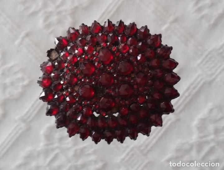 Joyeria: Antiguo broche con granates - Foto 4 - 178327421