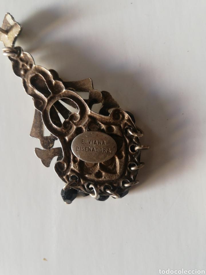 Joyeria: Pendientes de plata firmados e. Viana diseñadora - Foto 3 - 178687833