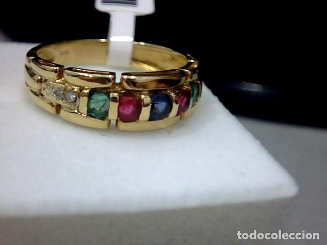 Joyeria: anillo oro 18 kl - Foto 4 - 179217810