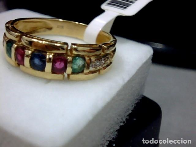Joyeria: anillo oro 18 kl - Foto 5 - 179217810