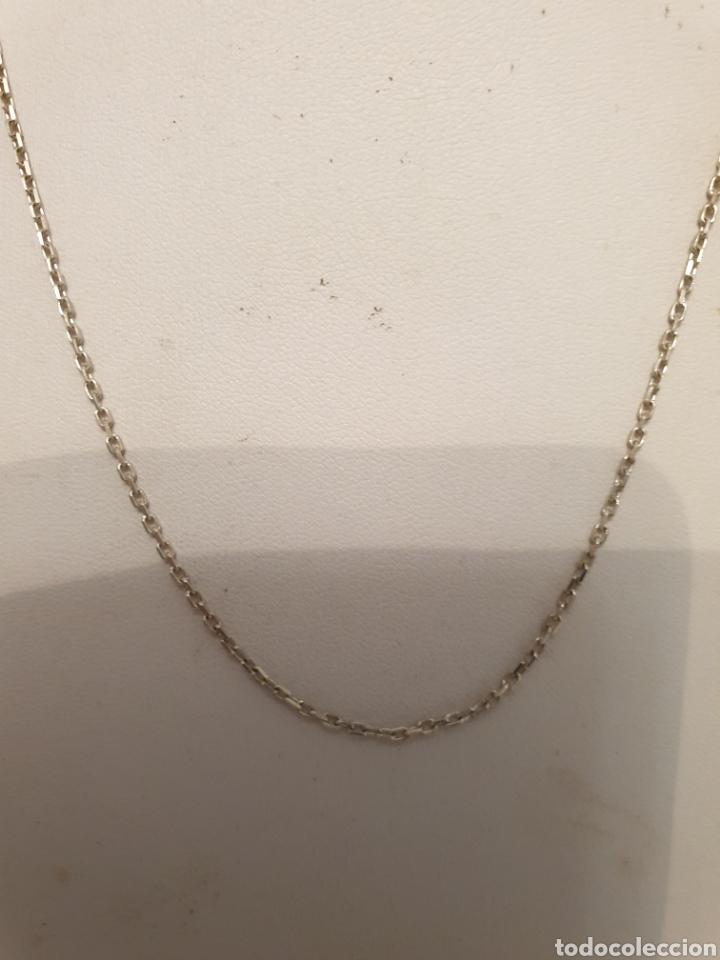 Joyeria: Magnifica cadena de eslabones largos de plata de ley 925 brillante - Foto 2 - 180027953