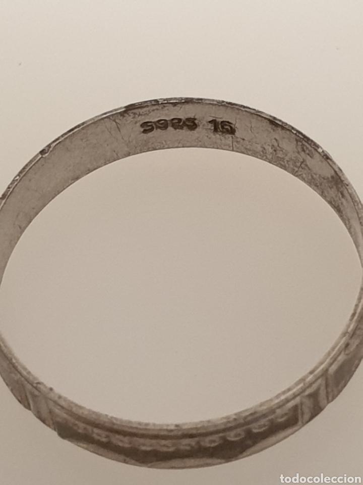 Joyeria: Bonito anillo de filigrana de plata de ley 925 antiguo - Foto 3 - 180044898