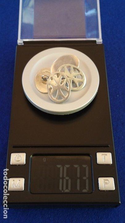 Joyeria: Gemelos Vintage de plata contrastada Orfebre FT. Malta. - Foto 17 - 180130852