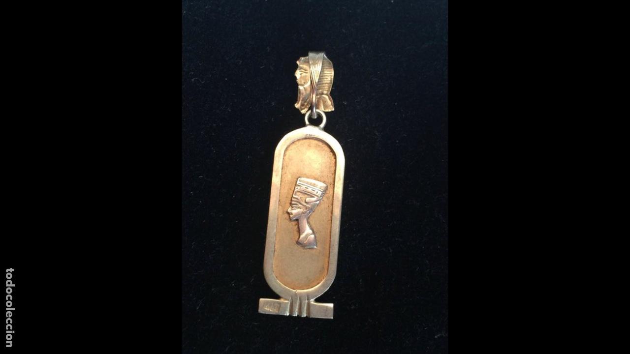 Joyeria: Precioso colgante egipcio años 70 Oro 18kilates - Foto 2 - 180866033