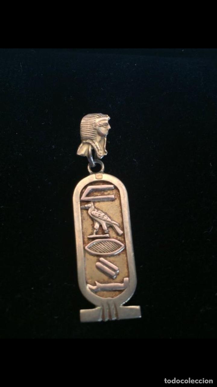Joyeria: Precioso colgante egipcio años 70 Oro 18kilates - Foto 3 - 180866033