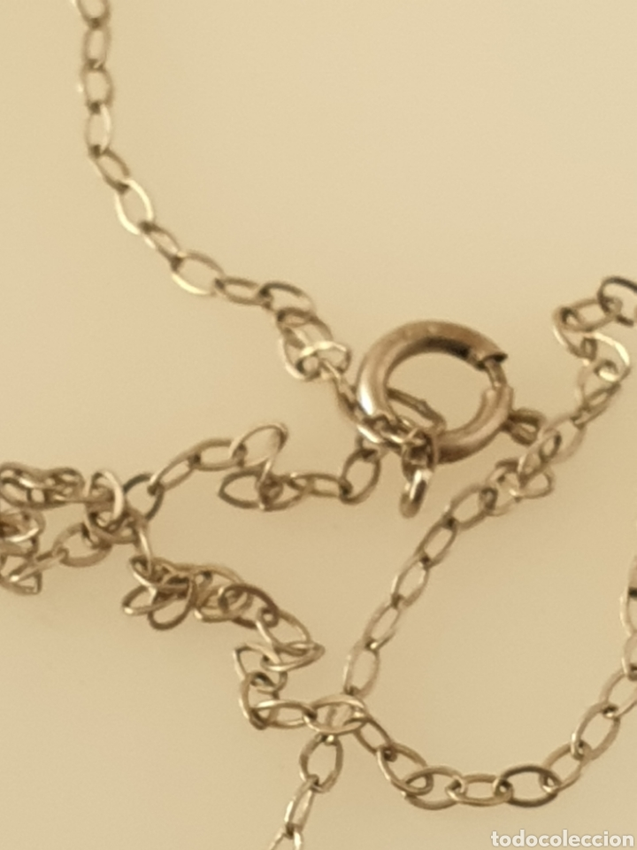 Joyeria: Finísimo colgante de Rubí art deco de plata de ley 925 con cadena de plata - Foto 3 - 180913140