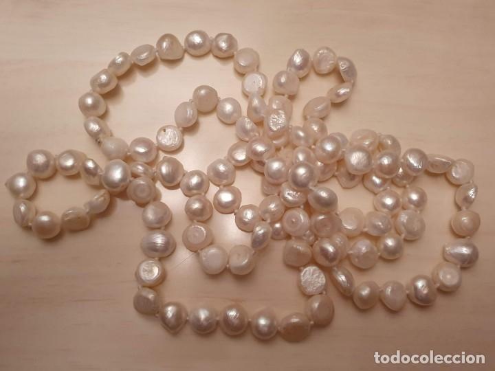 Joyeria: Collar de perla cultivada en agua dulce - Foto 5 - 181185013