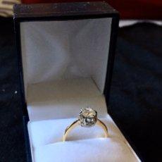 Joyeria: ANILLO SOLITARIO APROX.1K ORO 18K. SOLITAIRE DIAMOND OF APROX:1K SET IN GOLD.. Lote 110195639