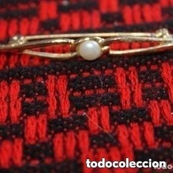 Joyeria: BROCHE DORADO CON PERLA - Foto 3 - 181478751