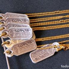 Joyeria: CADENA EGIPCIA CHAPADO ORO, 40 CM DE LARGO.. Lote 182006948