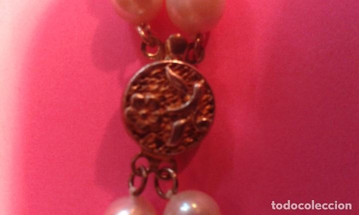 Joyeria: Collar de perlas cultivadas y cierre de plata - Foto 4 - 99514007