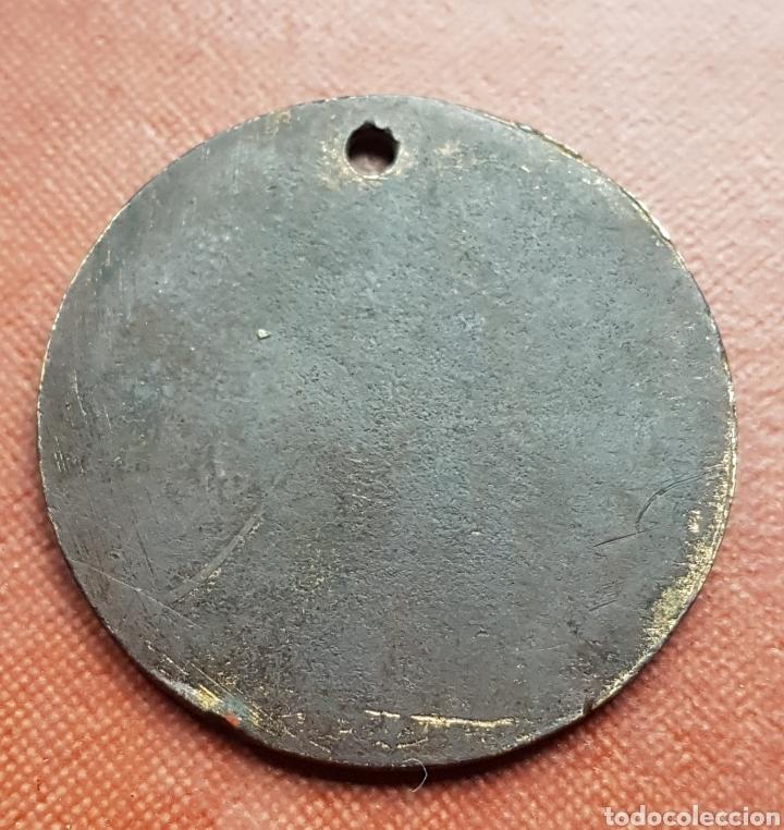 Joyeria: Antigua medalla colgante modernista Moro con tarbuch - Foto 2 - 182490072