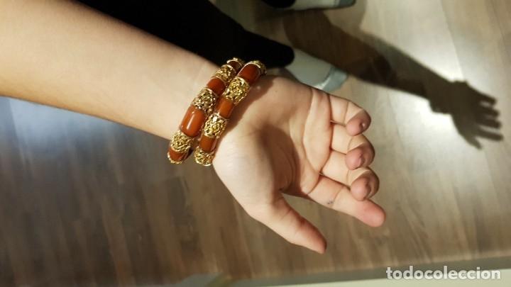 Joyeria: Brazalete en forma de serpiente de bisuteria - Foto 2 - 182526120