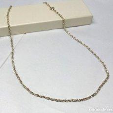 Joyeria: CADENA DE PLATA DE LEY - MEDIDA 50 CM - ANCHURA 2 MM.. Lote 182770900