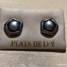 Joyeria: PAREJA DE PENDIENTES PLATA DE LEY. Lote 183022341