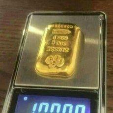 Joyeria: LINGOTE DE ORO 100 GRAMOS. 24K PURO 999,9/1.000 !! IDEAL INVERSIÓN !! LEER ..... Lote 183208961
