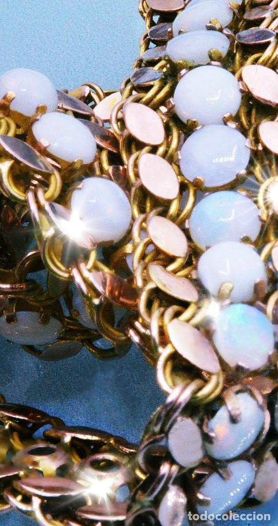 Joyeria: OPALOS 56KT & ORO - ESPECTACULAR COLLAR RIVIERE COMPLETO 103 GENUINOS ÓPALOS AUSTRALIANOS Y ORO -VER - Foto 4 - 183863370