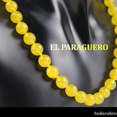 Joyeria: GARGANTILLA COLLAR VINTAGE DE TOPACIOS AMARILLOS FACETADOS PESA 55 GRAMOS- Nº111. Lote 183867141
