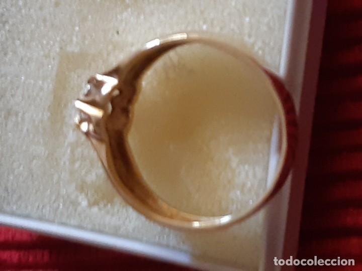 Joyeria: Gran solitario oro con circonita - Foto 6 - 184351343