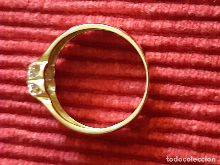 Joyeria: Gran solitario oro con circonita - Foto 8 - 184351343