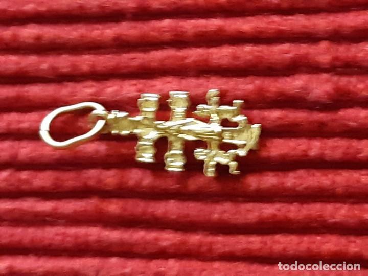 Joyeria: Pequeña cruz de caravaca en oro 18 quilates - Foto 5 - 184351642