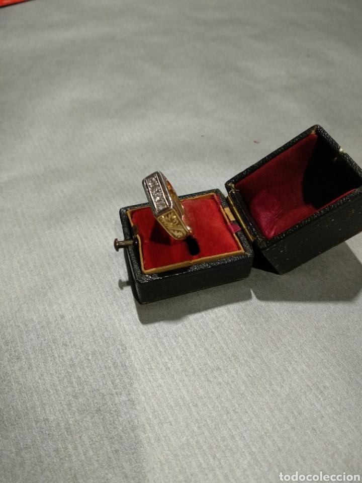 Joyeria: Sortija de oro y diamantes - Foto 2 - 184523893