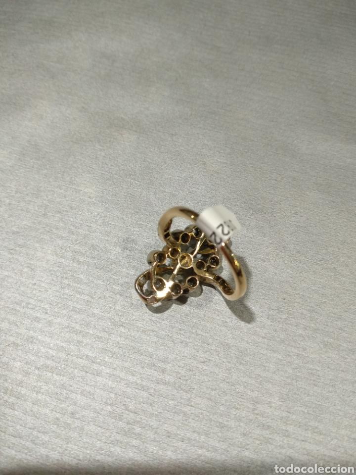 Joyeria: Sortija isabelina con diamantes - Foto 4 - 184768671
