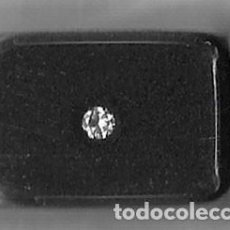 Joyeria: DIAMANTE. 1 DIAMANTE NATURAL DE 0.10 CT CON CERTIFICADO DIAMINA. Lote 185918496