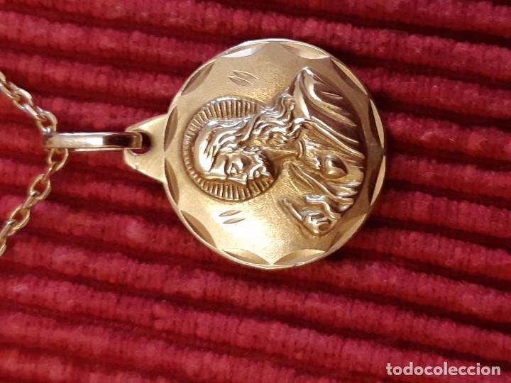 Joyeria: Cadena y medalla oro de 18 quilates - Foto 5 - 185968568
