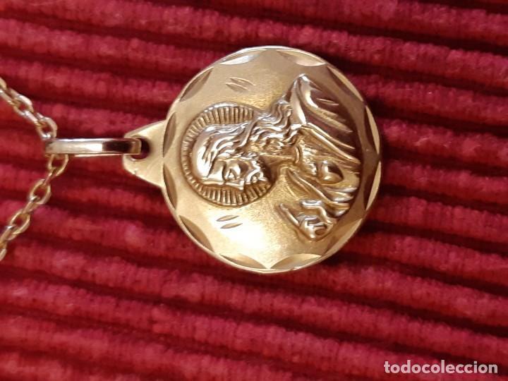Joyeria: Cadena y medalla oro de 18 quilates - Foto 6 - 185968568