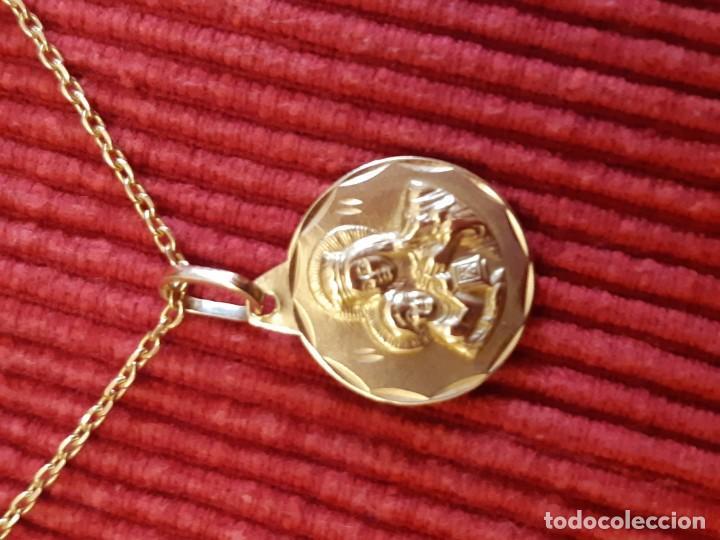 Joyeria: Cadena y medalla oro de 18 quilates - Foto 7 - 185968568