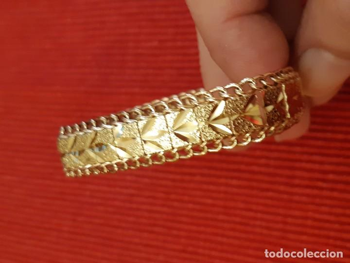 Joyeria: Antiguo brazalete de oro 18 quilates - Foto 2 - 189272043