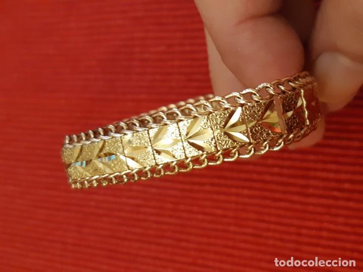Joyeria: Antiguo brazalete de oro 18 quilates - Foto 4 - 189272043