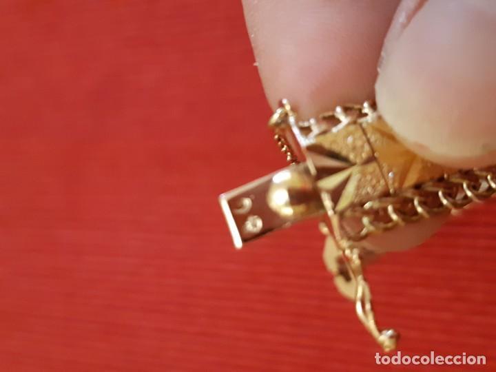 Joyeria: Antiguo brazalete de oro 18 quilates - Foto 11 - 189272043