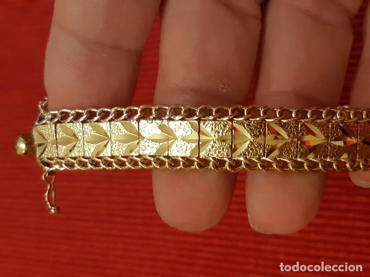 Joyeria: Antiguo brazalete de oro 18 quilates - Foto 12 - 189272043