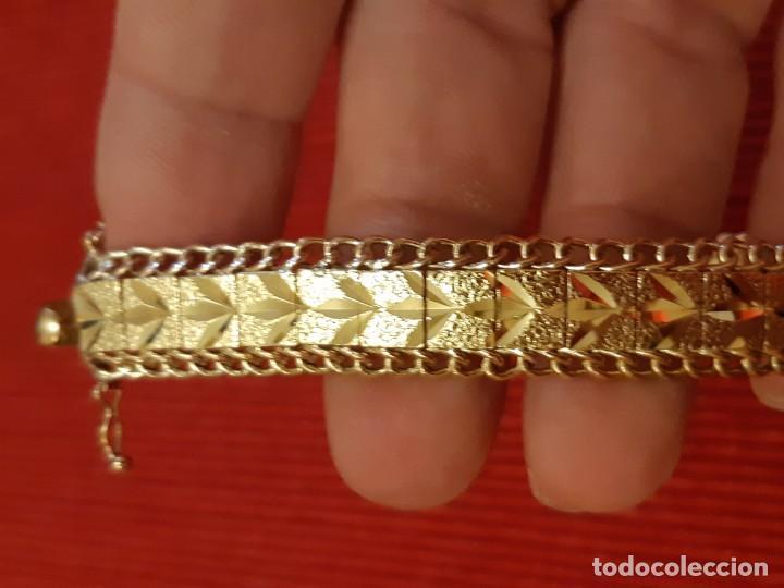 Joyeria: Antiguo brazalete de oro 18 quilates - Foto 13 - 189272043