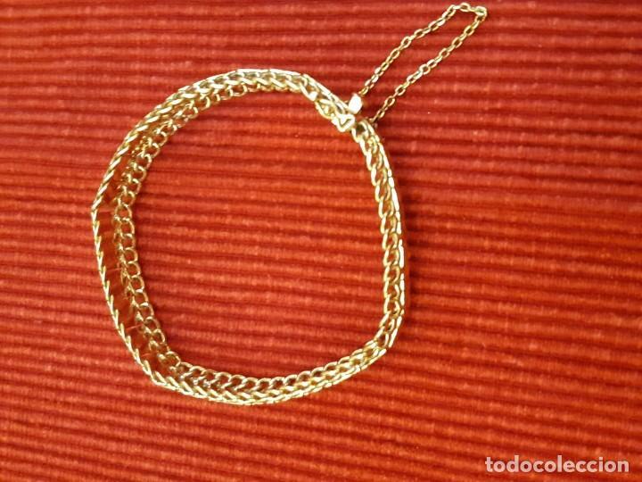 Joyeria: Antiguo brazalete de oro 18 quilates - Foto 14 - 189272043