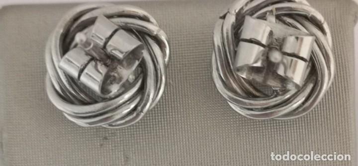 Joyeria: Conjunto Gargantilla y Pendientes Vintage Oro Blanco 18k y Diamantes - Foto 5 - 168617928