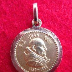 Joyeria: COLGANTE DE ORO DE 18 KLTS. MEDALLA JUAN XXIII. Lote 190226780