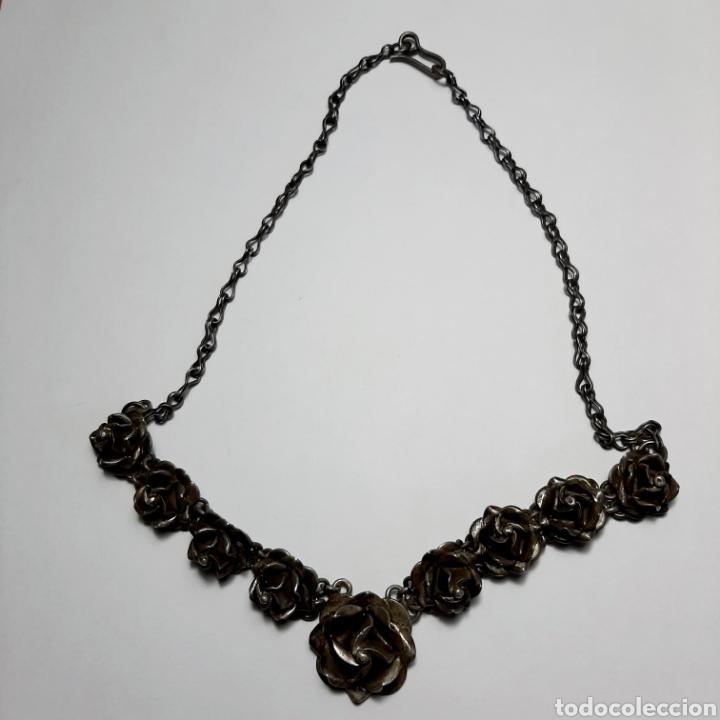 Joyeria: Gargantilla Collar Rosas * PLATA 925 - Foto 6 - 190823725
