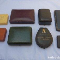 Joalheria: * ANTIGUO LOTE DE 8 CAJAS ANTIGUAS DE JOYERIA, BUENAS MARCAS, VER FOTOS. ZX. Lote 191383548