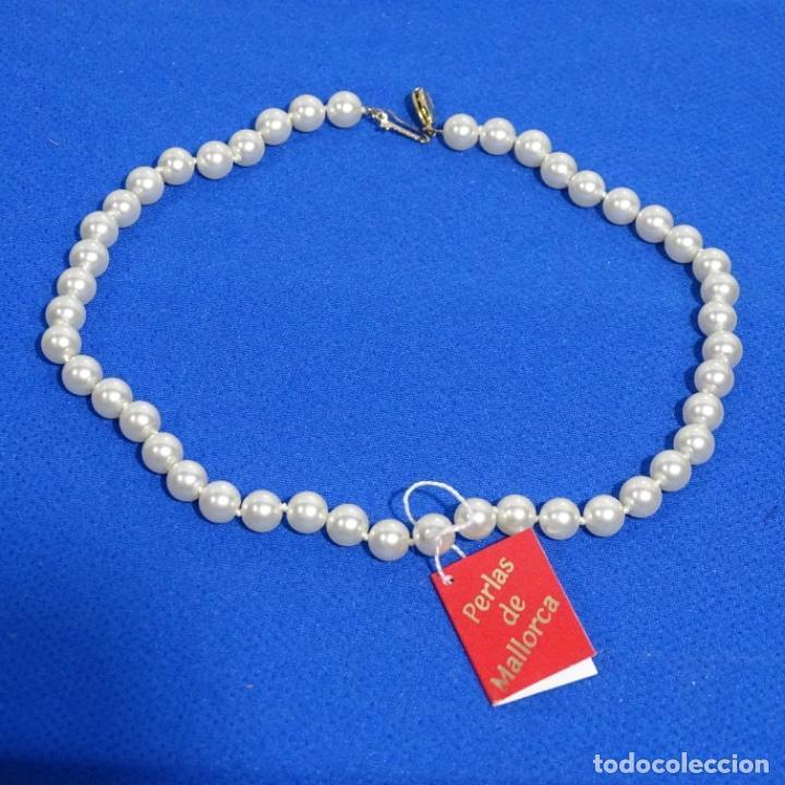 Joyeria: Antiguo collar de perlas de Mallorca sin estrenar. - Foto 2 - 191416220
