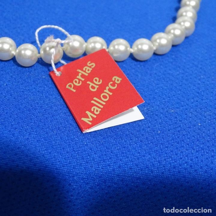 Joyeria: Antiguo collar de perlas de Mallorca sin estrenar. - Foto 3 - 191416220