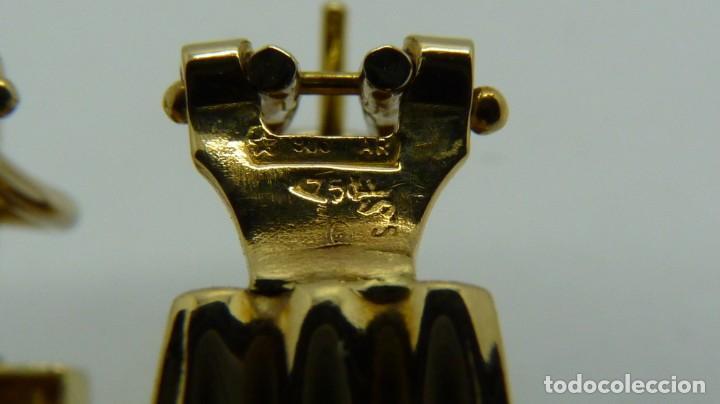 Joyeria: PENDIENTES TODO ORO DE 18 KLTS. (750MM) - Foto 11 - 132880962