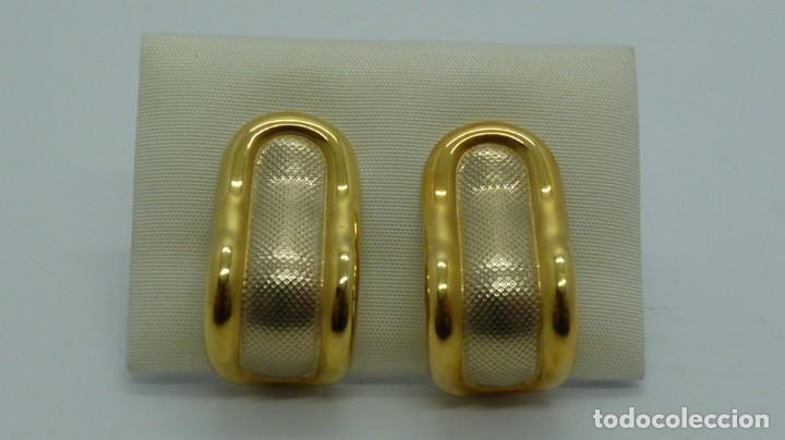 PENDIENTES TODO ORO DE 18 KLTS. (750MM) (Joyería - Pendientes Antiguos)