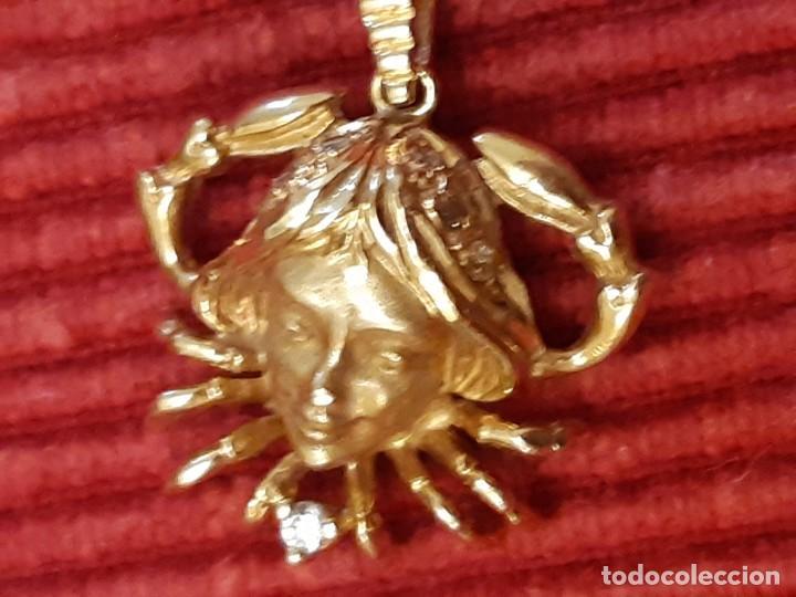 Joyeria: Horoscopo de cáncer en oro de 18 quilates - Foto 5 - 193268418
