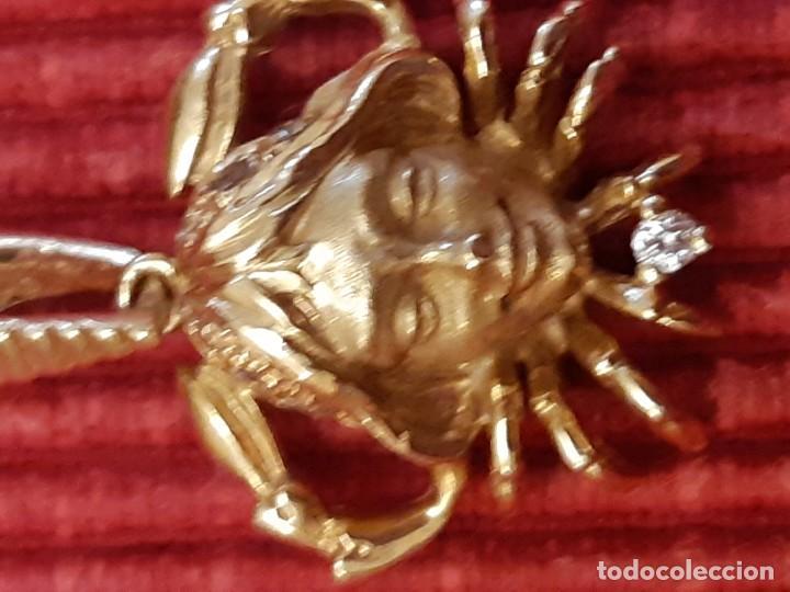 Joyeria: Horoscopo de cáncer en oro de 18 quilates - Foto 7 - 193268418