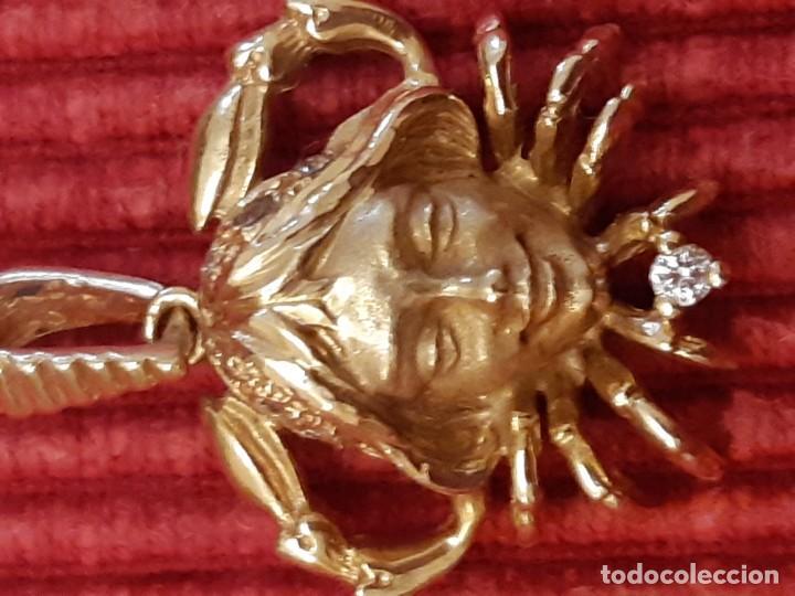 Joyeria: Horoscopo de cáncer en oro de 18 quilates - Foto 9 - 193268418