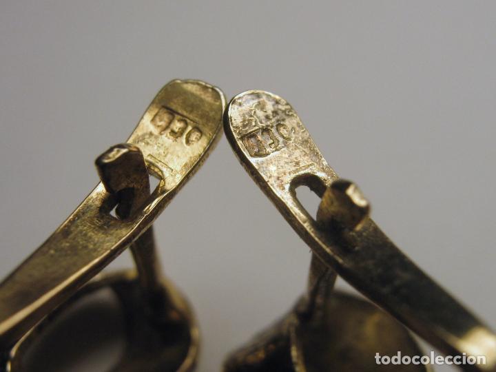 Joyeria: Antiguos bellos pendientes largos tipo Isabelinos PLATA - Foto 6 - 193549010